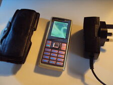ORIGINAL RARE SAMSUNG SGH-M150  LOCKED TO TESCO  + CHARGER+LEATHER CASE