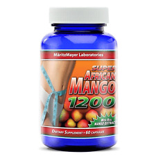 Super African Mango 1200 Extract Burn Fat Weight Diet Loss Irvingia Gabonensis