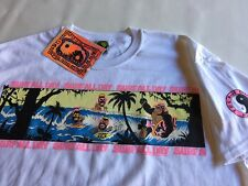 80's T&C Surf Designs T-shirt Men's  Large  White