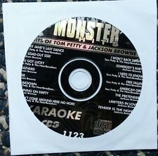 HITS OF TOM PETTY & JACKSON BROWNE KARAOKE CDG MONSTER HITS CD+G MH1123