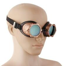 Vintage Victorian Steampunk Cyber GOGGLES Glass Welding Punk Gothic Cosplay
