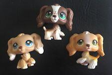 Lot Littlest Pet Shop LPS cocker spaniels RARE #748, #156, #79