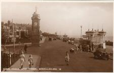 Clock Tower West Parade Bexhill on Sea Motor car unused RP old pc Norman
