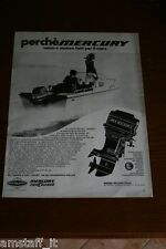 BM26=1972=MERCURY MOTORE BARCA NAUTICA=PUBBLICITA'=ADVERTISING=WERBUNG=