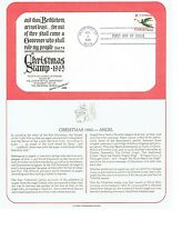 CHRISTMAS STAMP 1965 ANGEL FIRST DAY COVER FDC POSTAL COMMEMORATIVE SOCIETY AZ