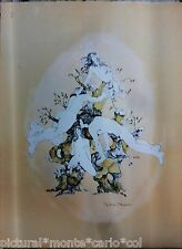 DIDIER*MOREAU*LITHO*ORIGINALE*ARBRE*EROTIQUE*SEX*AMOUR*VINTAGE*MUSEE*COLLECTOR
