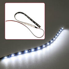30cm Waterproof Auto Car Vehicle Flexible LED Strip Light Bar Decor Pink