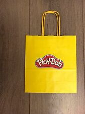 NEW PLAY DOH KIDS YELLOW CARRIER BAG GIFT BAG GENUINE SMALL GOURMET BAG BIRTHDAY