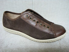 JOHN VARVATOS - F2591R - Men's Brown Leather & Suede Casual Sneakers - Size 9 M