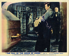 FALL OF THE HOUSE OF USHER ORIGINAL LOBBY CARD VINCENT PRICE MYRNA FAHEY