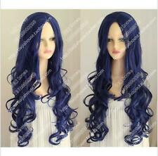 2016 cosplay Corpse Bride Tim Burton's Corpse Bride Blue curly hair Wig