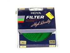 62mm Hoya G X1 Green Lens filter X 1 Japan Coated New Color Conversion Round