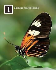 Number Search Puzzles 1 : 100 Elegant Puzzles in Large Print by Puzzlefast...