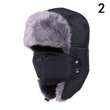 Unisex Men/Women Winter Trapper Aviator Trooper Earflap Warm Ski Hat With Mask