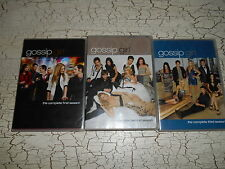 3 Gossip Girl - The Complete First Second Third Seasons DVD