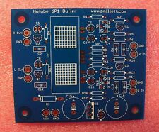 DIY PCB plus Tube - Buffer PCB using the Korg Nutube 6P1