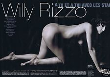 Coupure de presse Clipping 2003 Willy Rizzo   (6 pages) nue
