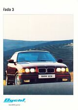 BMW 3 1993 catalogue brochure tcheque czech