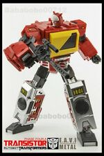 New Transformers KFC Toys EAVI METAL PHASE FOUR:A Transistor Blaster figure