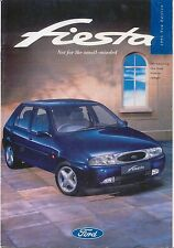 Ford Fiesta Encore LX Si Ghia 1995-96 Original UK Sales Brochure No. FA1260/1