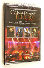 THE CANADIAN TENORS Live at Royal Conservatory of Music Toronto NEW & SEALED DVD