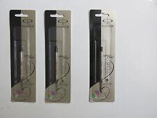 Parker QuinkFlow Ink Refill  Ballpoint Pens, MED Point, Black Pack of 3 Refill