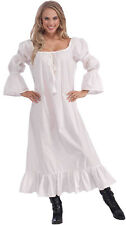 MEDIEVAL CHEMISE PLAIN RENAISSANCE UNDERGARMENT FANCY DRESS #US