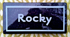 PERSONALIZED ENGRAVED HEAVY GRANITE PET MEMORIAL HEADSTONE GRAVE MARKER STONE