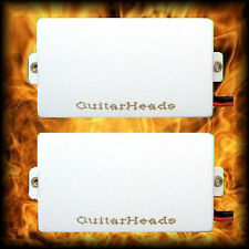 Guitar Parts - GUITARHEADS PICKUPS - ACTIVE HUMBUCKERS - Set of 2 - WHITE