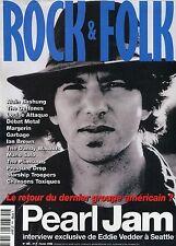 Rock & Folk #366 -PEARL JAM- Bashung, Louise Attaque...