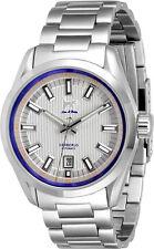 Lew y Huey Cerberus Automático 100m Watch, White & Blue vendedor Reino Unido