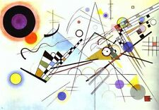 Wassily Kandinsky Abstract Oil Painting repro Composition VIII