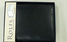 Quality New Rolfs Mens Black Genuine Leather Flipfold Wallet 28 dollar price tag