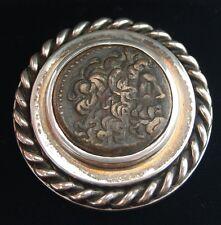 Papiergewicht Silber Voigtländer mit Münze Ptolemaios III 250 v.C.