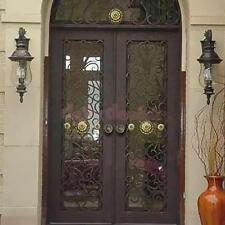 Antique Bronze Cabinet Door Drawer Wardrobe Pull Ring Handle Knob Dia 55mm