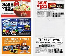 2010 mms M&M ad clipping advertisement mms M&M money saver promotion expired