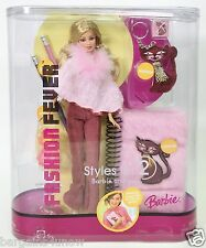 2005 FASHION FEVER STYLES FOR 2 BARBIE AND YOU #3 KEYCHAIN NOTEBOOK PENCILS NRFP