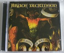 BRUCE DICKINSON TYRANNY OF SOULS CD MADE IN BRAZIL 1st PRESSING 2005 IRON MAIDEN