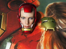 Hot Toys  Iron Man 3 : Pepper Potts 1/6 Head Sculpt with Helmet MMS311