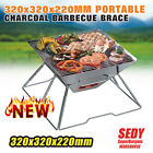 320 BBQ Grill Barbeque Barbecue Portable Stainless Steel Camping Picnic Charcoal