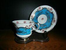 PARAGON PEMBROKE TEA CUP/SAUCER BLUE MINT COND