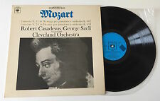 """LP 12"""" STEREO MOZART CONCERTO N 21 N 24 ROBERT CASADESUS GEORGE SZELL CLEVELAND"""