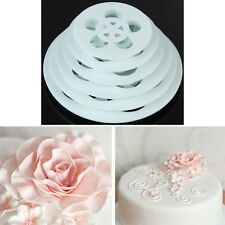 New Modelling Tool Fondant Cake Rose Flower Decorating Cookie Cutter Tools US