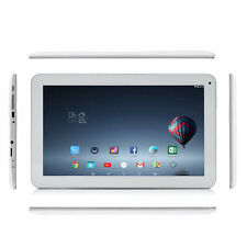 "iRULU 10.1"" 8GB/1GB Android 5.1 Lollipop BT 4.0 Quad Core Wifi White Tablet PC"