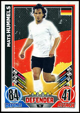 Mats Hummels Germany #71 England 2012 Match Attax TCG Card (C206)