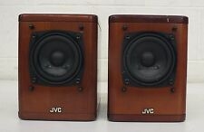 JVC SP-UX2000RGD High-Quality Compact Speakers Real Wood Cabinets NO GRILLS