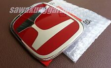 JDM Red H Emblem Badge Logo for ODYSSEY RB1 CIVIC SEDAN FB FD2 JAZZ GE6 GE8