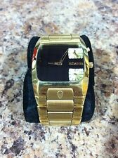 "Nixon ""The Banks"" Gold Watch - EUC! Men's A060 510 51-30 Magnacon 42-20 Diplomat"