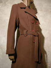 CHIC VINTAGE MANTEAU 1970 VTG COAT 1970's MANTEL 70er CAPPOTTO RETRO (42)