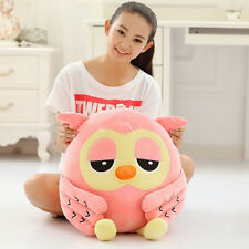 Owl Plush toy Cute big Giant Large Stuffed Soft Doll Pillow birthday Gift 50cm